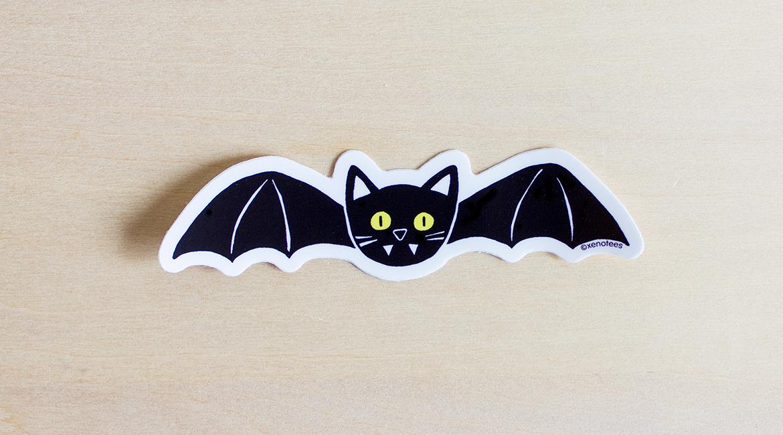 Cat Bat ステッカー